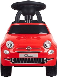 Sunbaby Fiat 500 Pushing Car Red