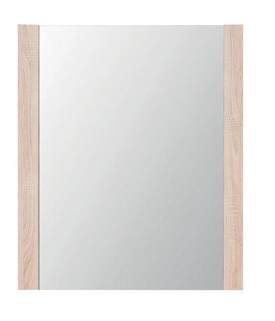 Peegel Black Red White Go Sonoma Oak, riputatav, 74x88.1 cm