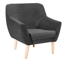 Signal Meble Nordic 1 Armchair Orinoco 1618 Dark Grey