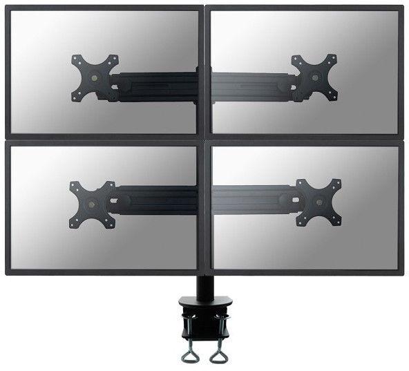 "Televizoriaus laikiklis Newstar FPMA-D700D4 Flat Screen Desk Mount 19-27"" Black"