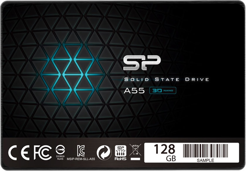 "Silicon Power Ace A55 128GB 2.5"" SATAIII SP128GBSS3A55S25"