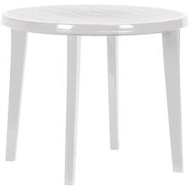 Садовый стол Keter Lisa White, 90 x 90 x 73 см