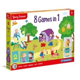 Clementoni Young Learners 8 Games In 1 50587