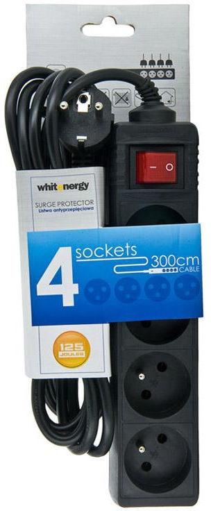 Whitenergy Basic Surge Protector 08405