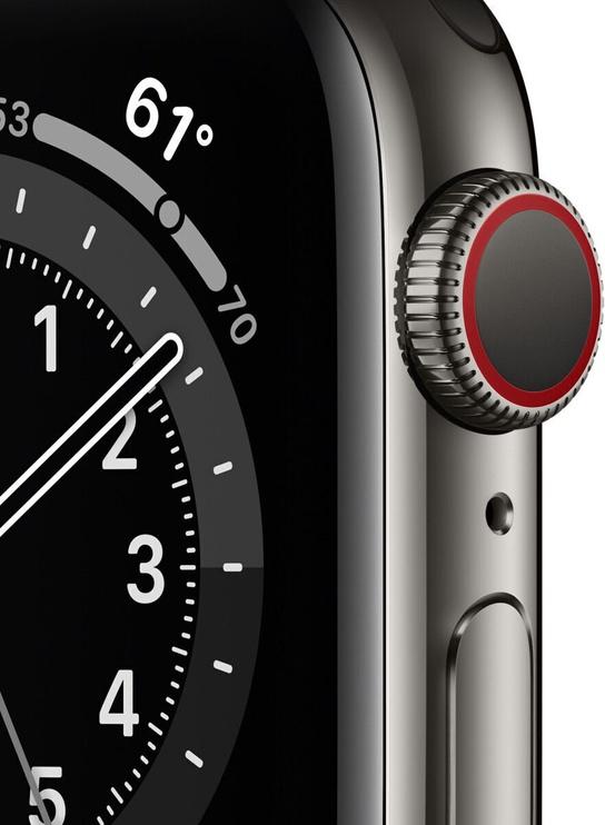 Умные часы Apple M06X3EL/A, черный