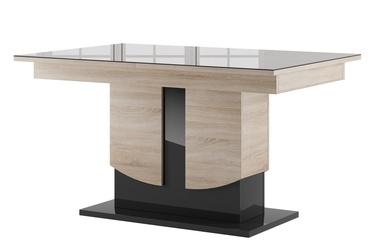 Szynaka Meble Star 14 Table Sonoma Oak/Black