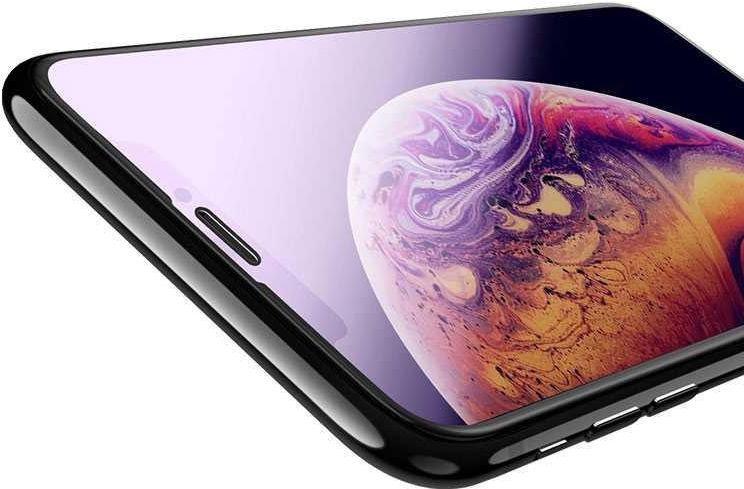 Devia Van Anti-Blue Ray Full Screen Protector For Apple iPhone XR Black 10pcs