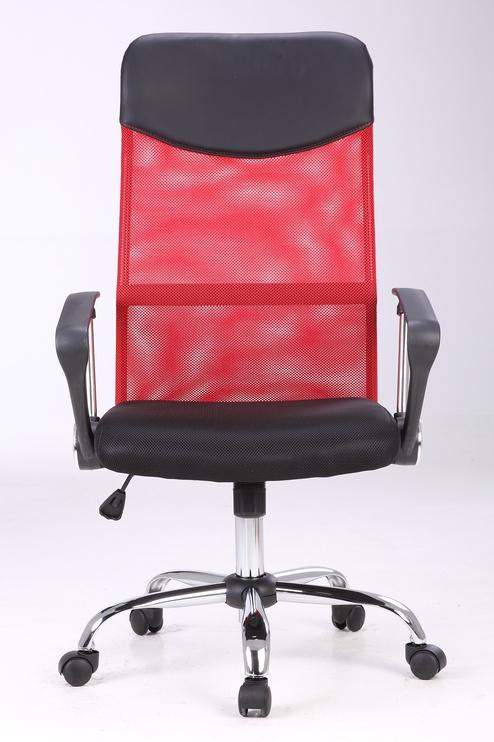Офисный стул, черный/красный