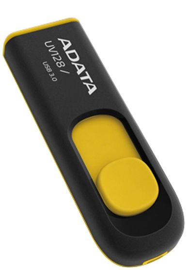 Adata DashDrive UV128 32GB Black/Yellow USB3.0
