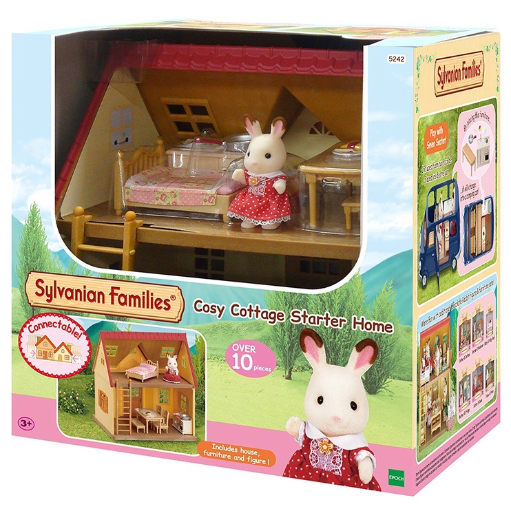 Epoch Sylvanian Families Cosy Cottage Starter Home 5242