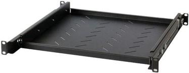 Intellinet 19'' 1U Sliding Shelf Steel Black