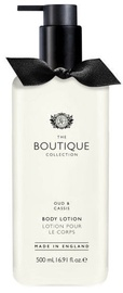 The English Bathing Company Boutique Body Lotion 500ml Oud & Cassis