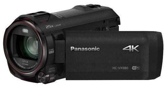 Panasonic 4K Ultra HD Camcoder HC-VX980