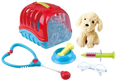 Rotaļlietu ārsta komplekts PlayGo Pet Care Carrier 3384