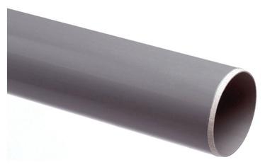 Vidaus kanalizacijos PVC vamzdis Wavin, Ø 110 mm, 1,5 m