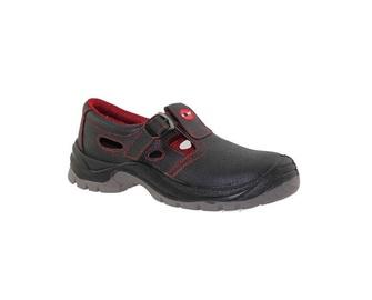 Vyriški darbiniai sandalai, be aulo, juodi, 41 dydis