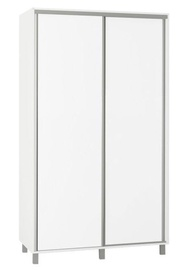 Skapis Bodzio SZP120 White, 120x60x210 cm