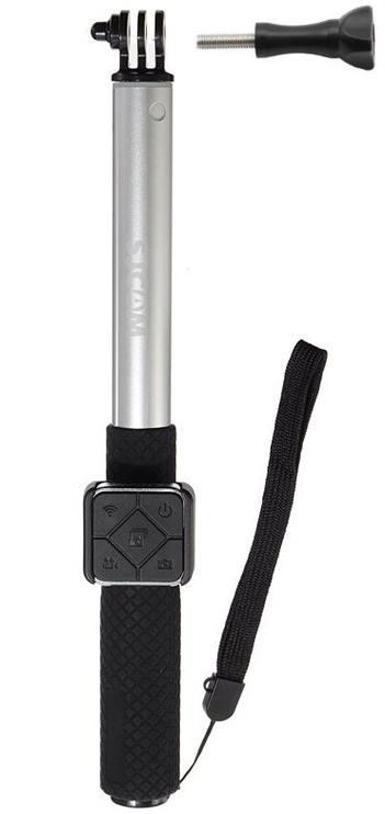SJCam Original J6 Legend J7 Star M20 Universal Selfie Stick + Bluetooth Remote Control Silver