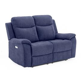 Диван Home4you Milo 2 Blue, 96 x 155 x 103 см