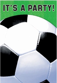 Amscan Championship Soccer Folded Invitations 499709