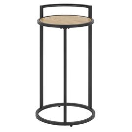 Kafijas galdiņš Home4you Seaford, ozola, 330x330x650 mm