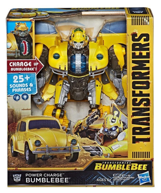 Žaislas Hasbro Transformer Power Charge Bumblebee Action Figure E0982, nuo 6 m.