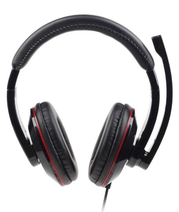 Ausinės Gembird MHS-001 Glossy Black