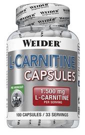 Weider L-Carnitine Capsules 100 Caps