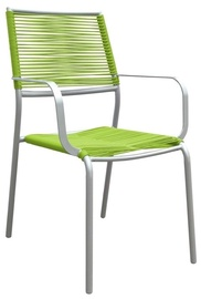 Home4You Armrest Chair Easy Lime Green