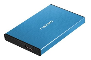 Natec External Enclosure for 2.5'' SATA USB 3.0 Blue