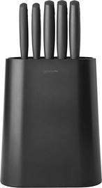 Brabantia Tasty+ Knife Block plus Knives Dark Grey