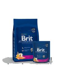 Sausas ėdalas katėms Brit Premium, su lašiša, 1.5 kg