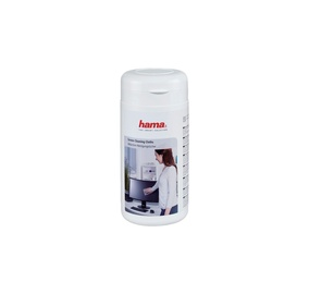 Valymo servetėlės LCD ekranams Hama 00113806, 100 vnt.