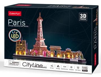 Cubicfun 3D Puzzle City Line Paris 115pcs