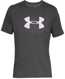 Under Armour Mens Big Logo T-Shirt 1329583 019 Grey XL