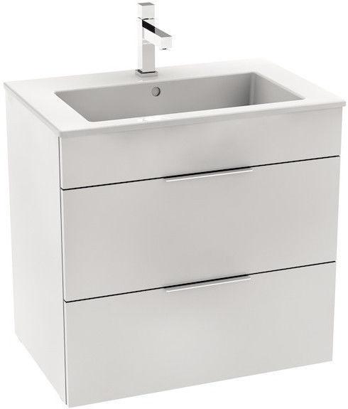 Шкаф для ванной Jika Cube with Basin 650x607x430mm White