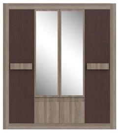 CMF Group Venera 5D Wardrobe Sonoma Oak/Dark Venge