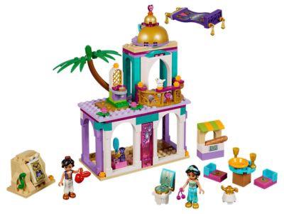 Конструктор LEGO Disney Princess Aladdin and Jasmine's Palace Adventures 41161 41161, 193 шт.