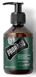 Bārdas kopšanas līdzeklis Proraso Green, 200 ml