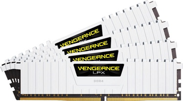 Corsair Vengeance LPX White 32GB 3200MHz CL16 DDR4 KIT OF 4 CMK32GX4M4B3200C16W