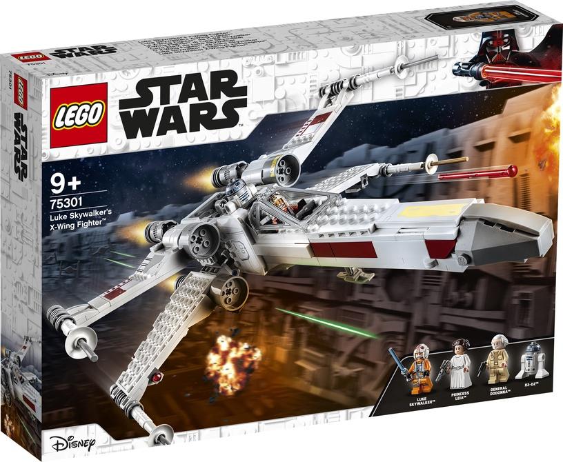 Constructor LEGO Star Wars Luke Skywalkers X-Wing Fighter 75301