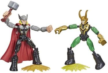 Hasbro Marvel Avengers Bend And Flex Thor VS Loki F0245