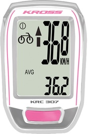 Kross Cycle Computer CY-S307W Pink