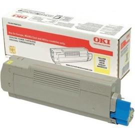 Oki Large Capacity Toner Cartridge For C833/843 Yellow