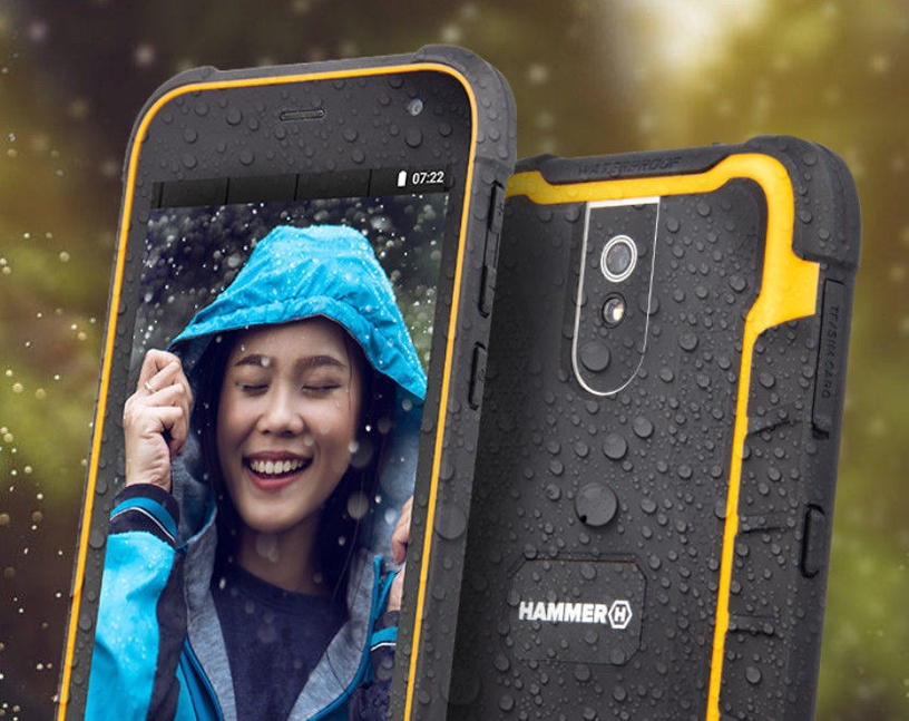 MyPhone Hammer Active 2 LTE Dual Black Orange