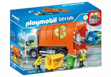 Playmobil City Life Recycling Truck 70200
