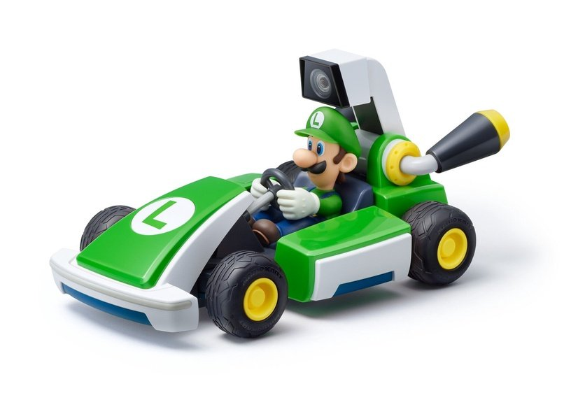 Nintendo Mario Kart Live Home Circuit Luigi Car Play Set