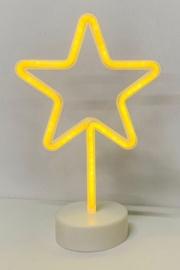 Niveda Neon Star Decoration Yellow