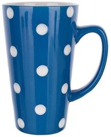 Vetro-plus Mug 45cl Polka Dots Blue