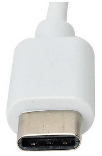 Techly Adapter USB to RJ45 White